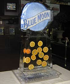 Blue Moon Logo created by Ice Miracles Long Island, New York, LI, NY