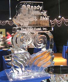 Doe Fund Logo created by Ice Miracles Long Island, New York, LI, NY
